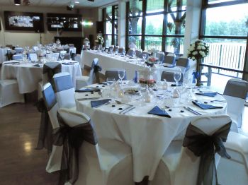 connelly room wedding set up